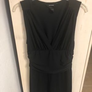 Express Black Sleeveless dress